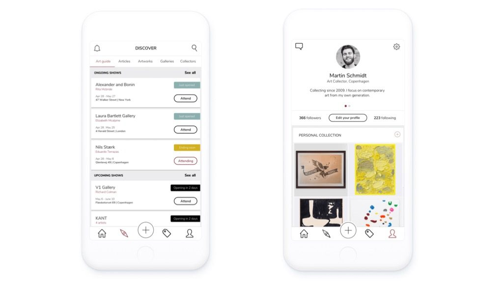 artland app screens