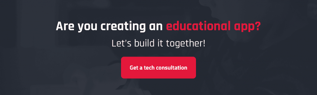 build educational app setapp