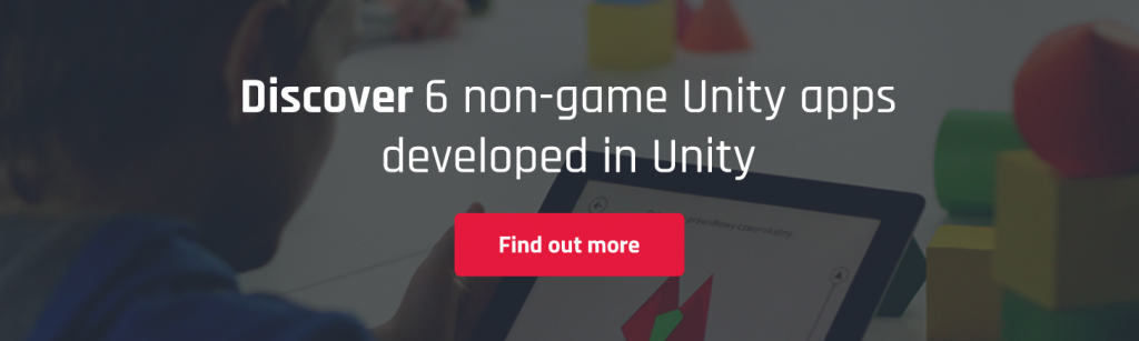 non games apps unity